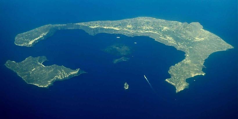 Санторин: грандиозный стратовулкан, погубивший цивилизацию на острове Крит