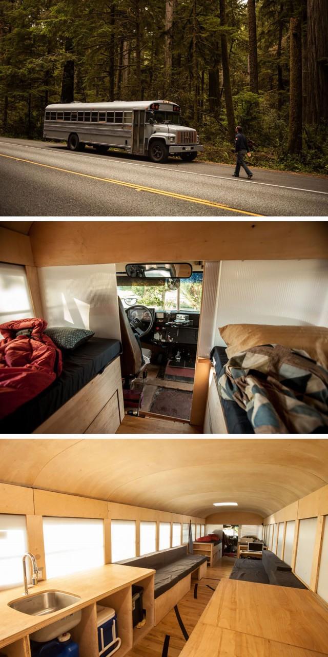 10. Дом в автобусе вместительность, дом, размер