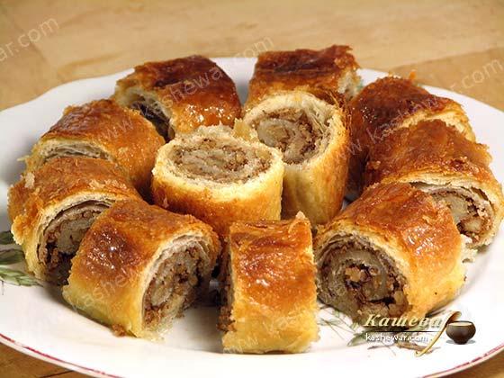 Печенье «Баклава» – рецепт с фото, болгарская кухня