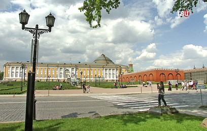 На месте снесенного 14-го корпуса Кремля появился парк