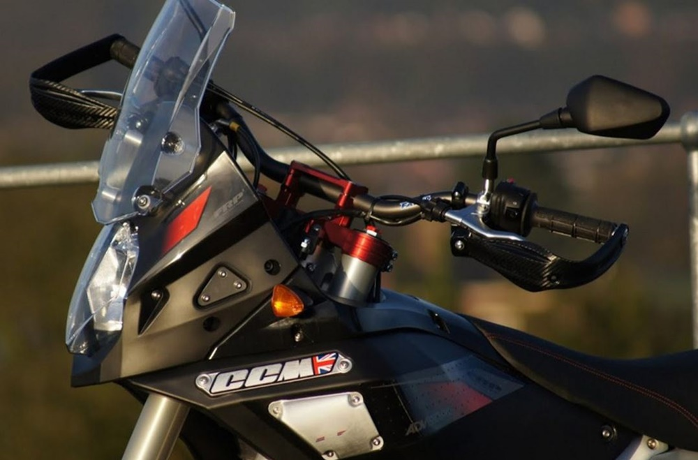 Новый мотоцикл CCM GP450 RS 2016