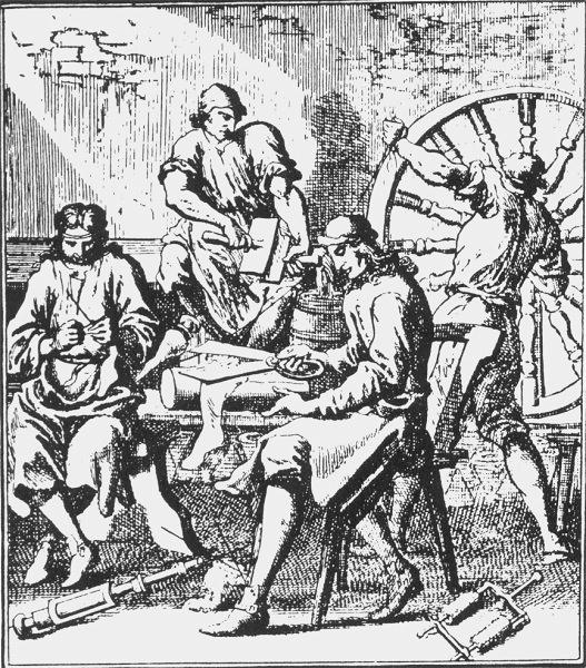 История вязания мужчины