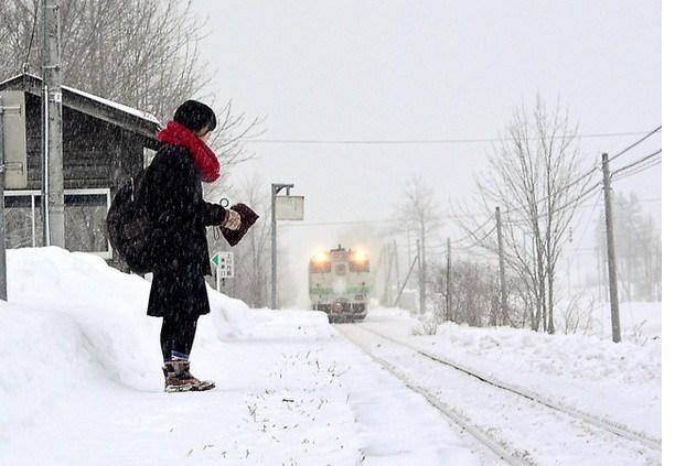 Железная дорога в Японии, которая работает только для одной школьницы