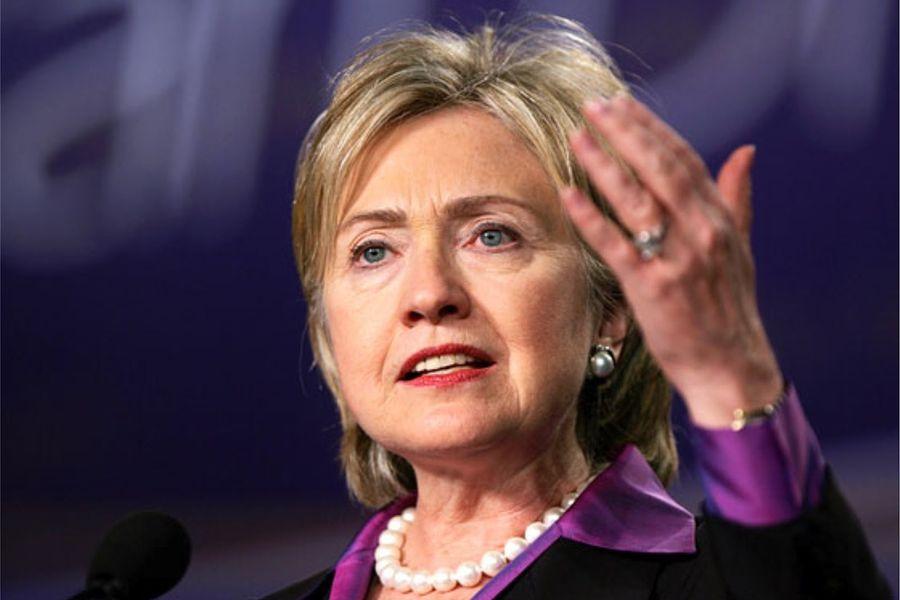Хиллари Клинтон готова стать первой женщиной-президентом США