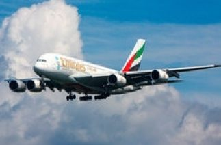 СМИ: В Москве едва не разбился A380 компании Emirates