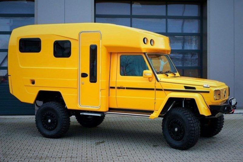 Кемпер на базе Mercedes G-класс для состоятельных путешественников
