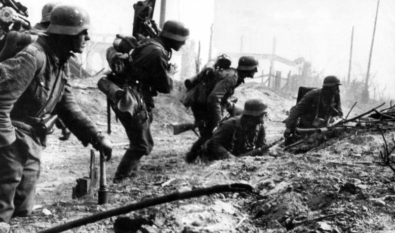 Война, немцы, воспоминания