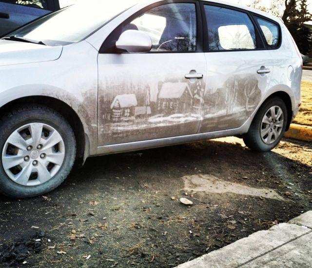 Грязеграфия на авто