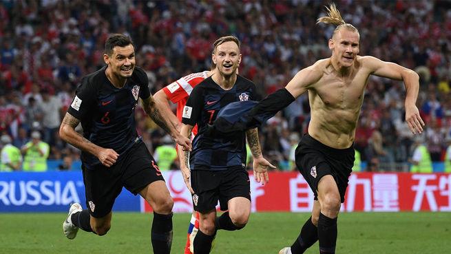 Игроки сборной Хорватии устроили провокацию после матча ЧМ-2018