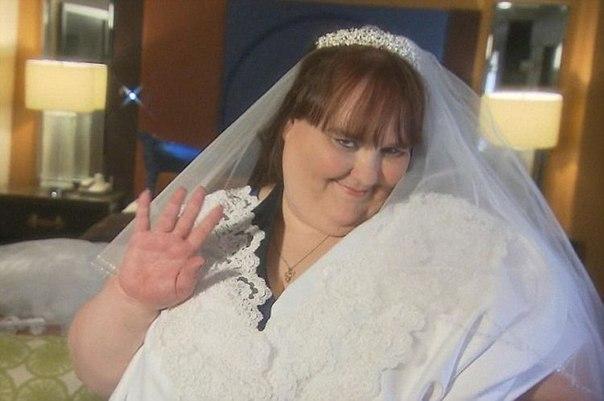 Американка Сюзанна Эман мечтает стать самой толстой невестой в истории