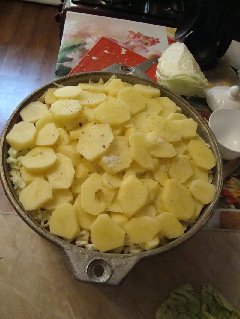 картофель еда, своими руками