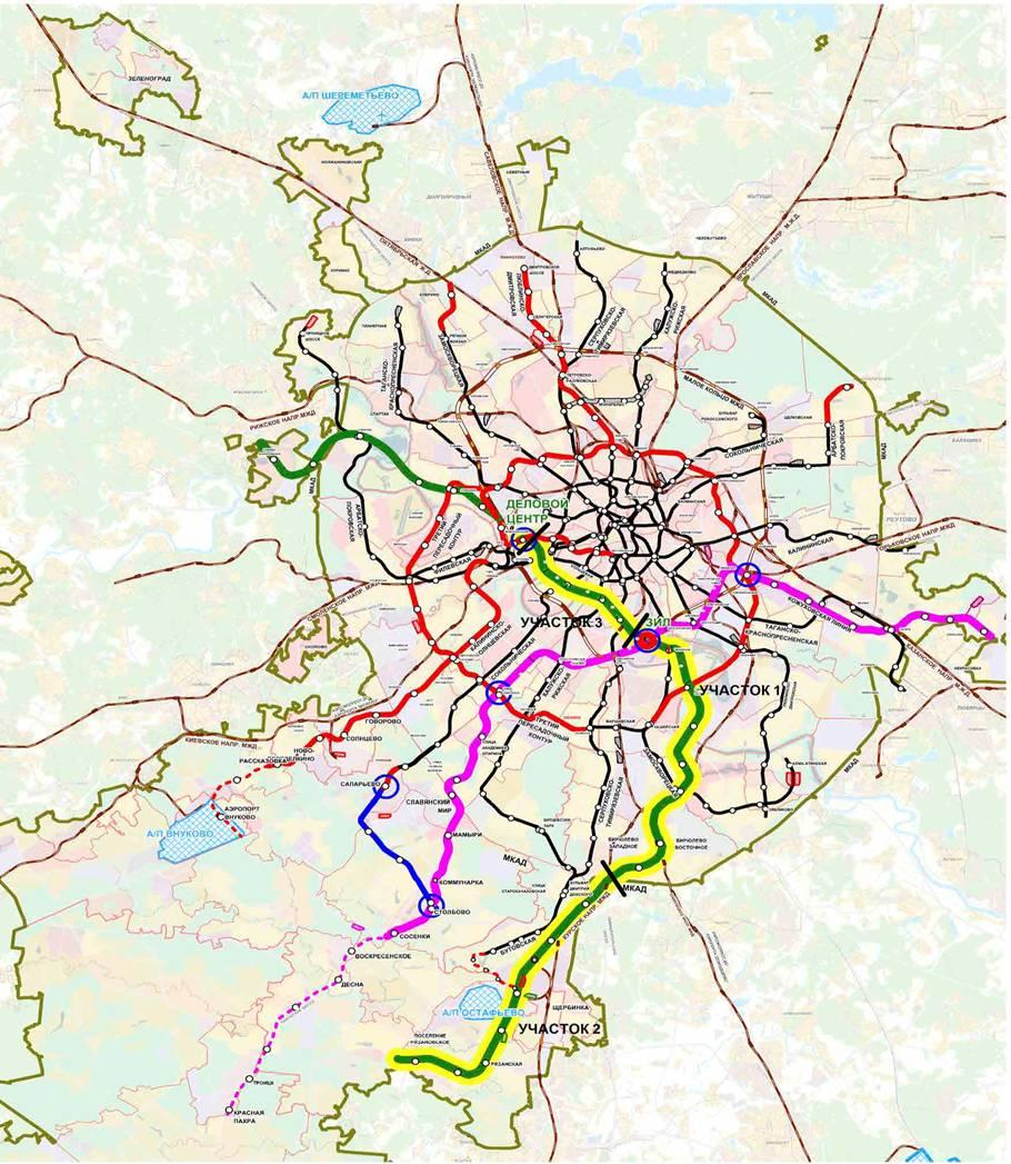 перспективная схема алма атинского метрополитена