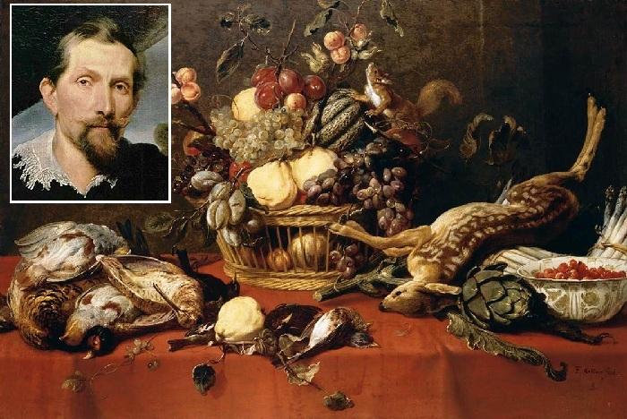 Натюрморты Франса Снейдерса, гениального фламандского художника.
