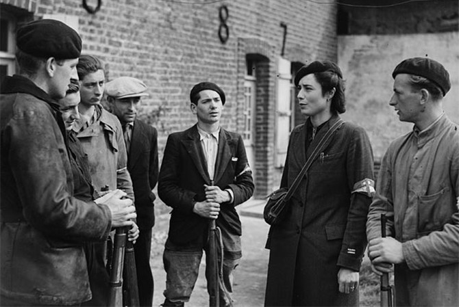 Вера французского Сопротивления война, вторая мировая война, девушки, история, сопротивление, франция