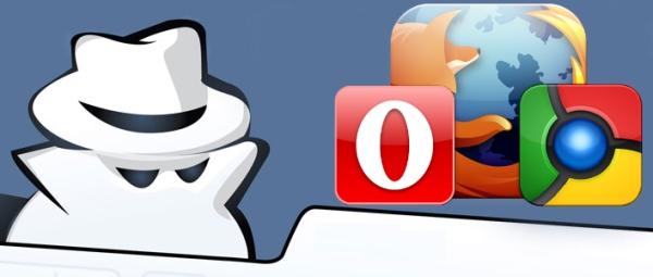 Как включить приватный просмотр в Firefox, Chrome и Opera