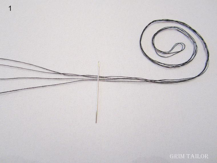 пришивание пуговиц