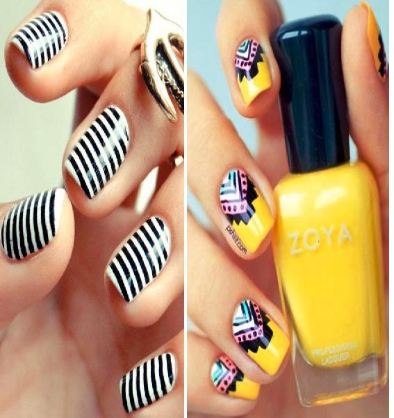 Для тех, кто не может позволить себе длинные ногти — 15 идей для шикарного маникюра на коротких ногтях