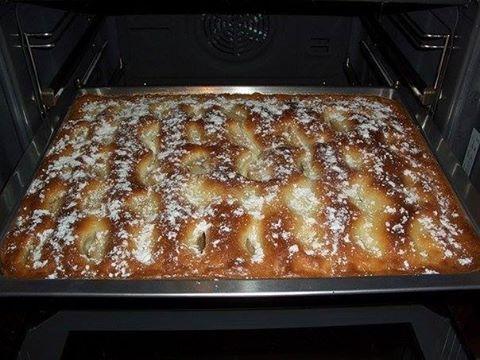 Пирог с яблоками, как пирожное! Нежный, ароматный и очень вкусный!