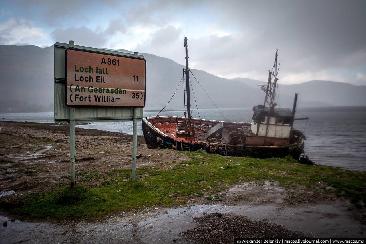 Шотландские лохи в  стране вечной осени