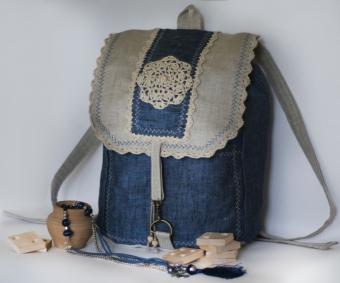 Как сделать рюкзак из старых джинсов в школу dragon age origins где купить рюкзаки
