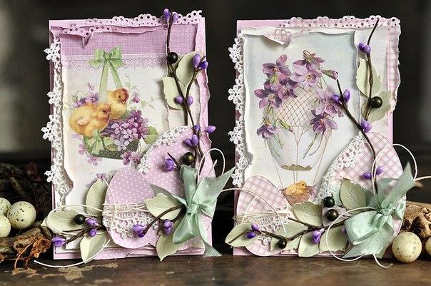 ВДОХНОВЕНИЕ: пасхальные открытки от Евы Mrozowska