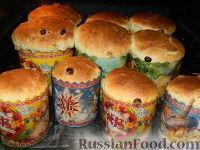 Фото приготовления рецепта: Пасхальный кулич без замеса - шаг №20