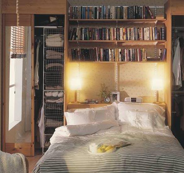 Спальные комнаты - фото