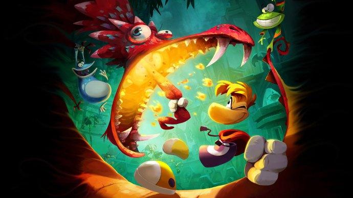 Самая лучшая детская игры - Rayman legends