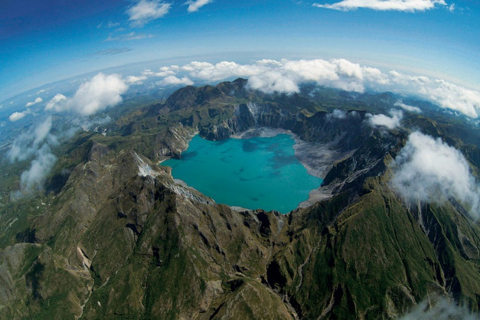 mount pinatubo the volcano itself essay