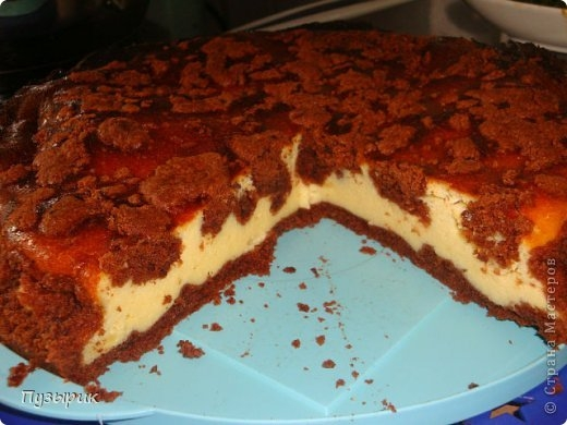 Рваный творожный пирог. Рецепт (1) (520x390, 123Kb)