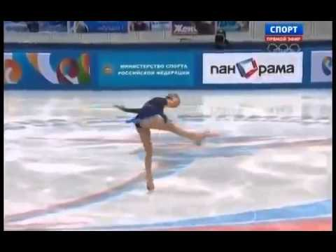 Юлия Липницкая золото!!!На Олимпиаде Сочи 2014!!! Девочке 15лет!!!