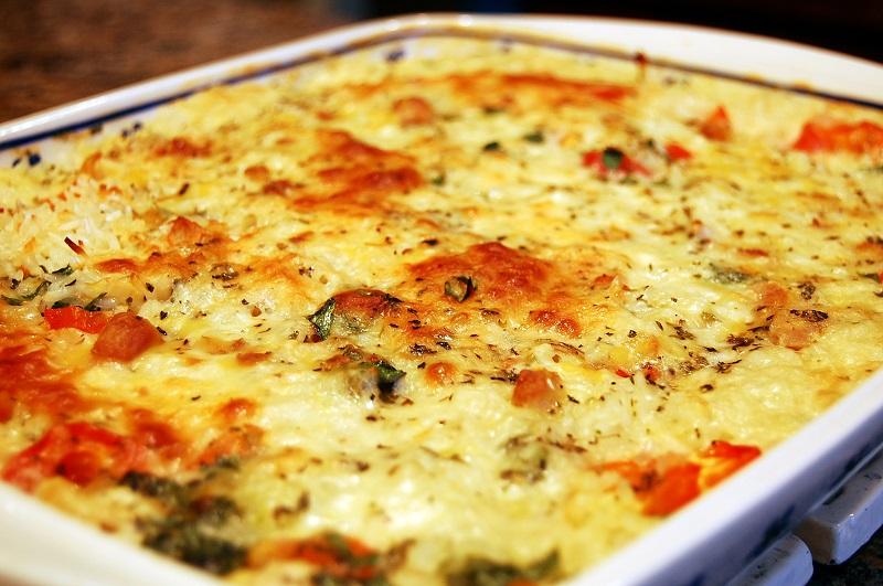 Улетная запеканка из курицы, спагетти и грибов. Вот что я приготовлю сегодня на ужин!