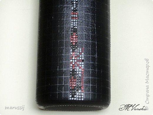 Декор предметов Мастер-класс Роспись По мотивам вышивки Бутылки стеклянные фото 11