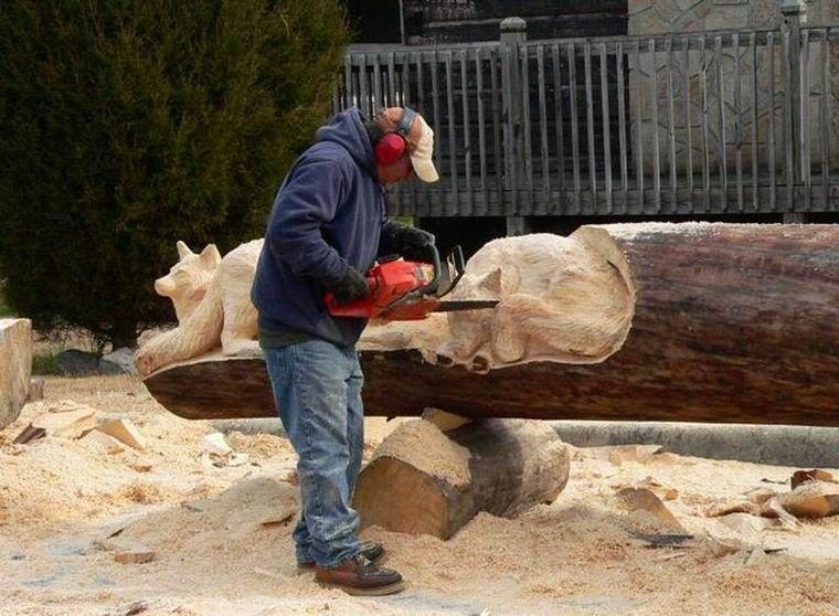 Резьба по дереву (27 фото)