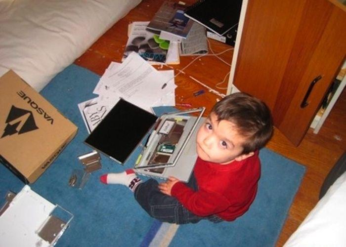 Детские шалости (8 фото)