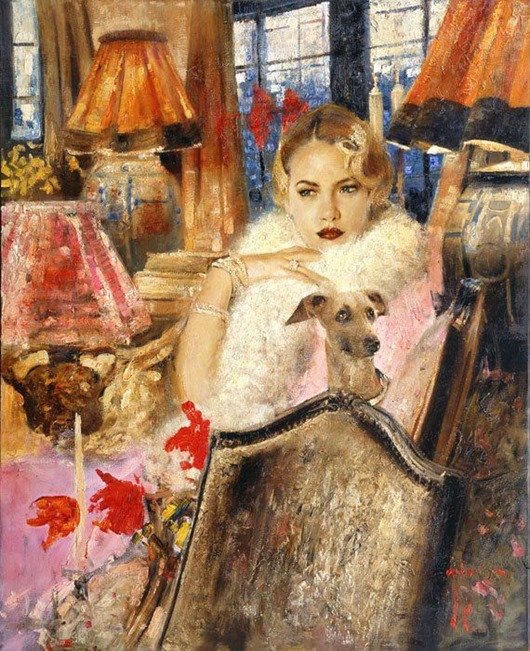 Гимн женственности и и красоте — романтичные и яркие работы Владимира Мухина