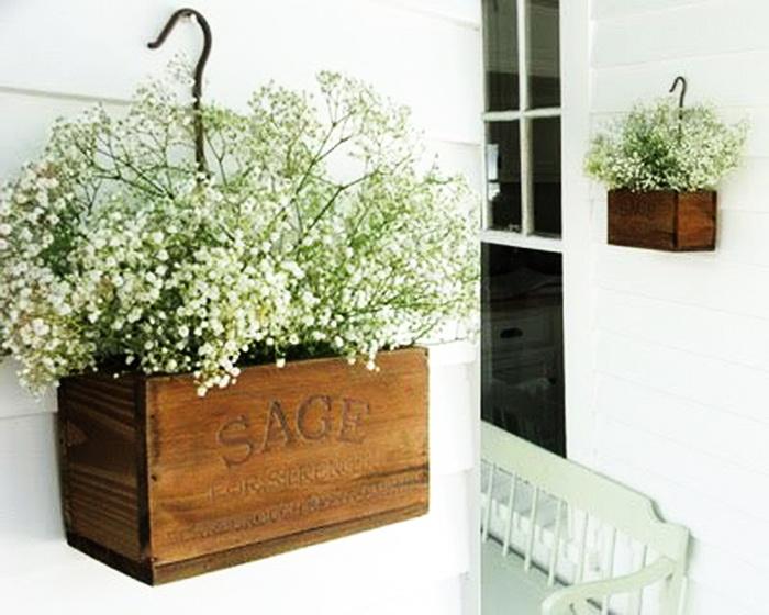 Красивые ящики для цветов