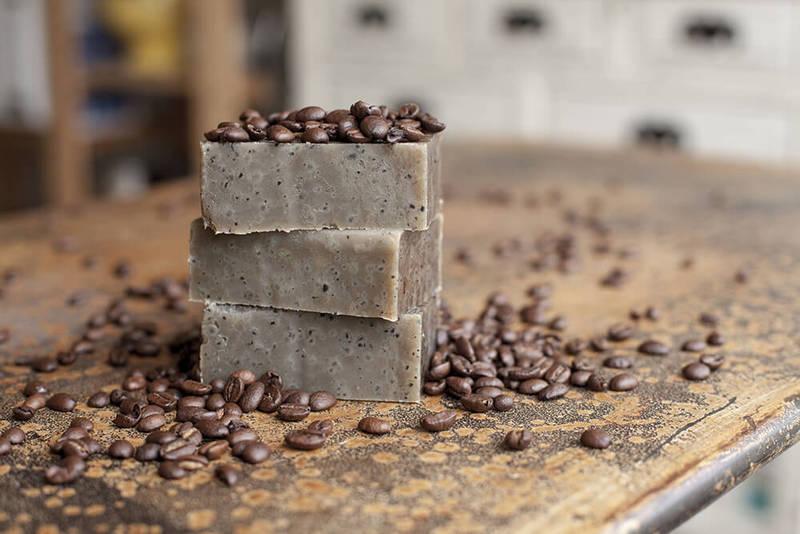 Мыло с кофе своими руками
