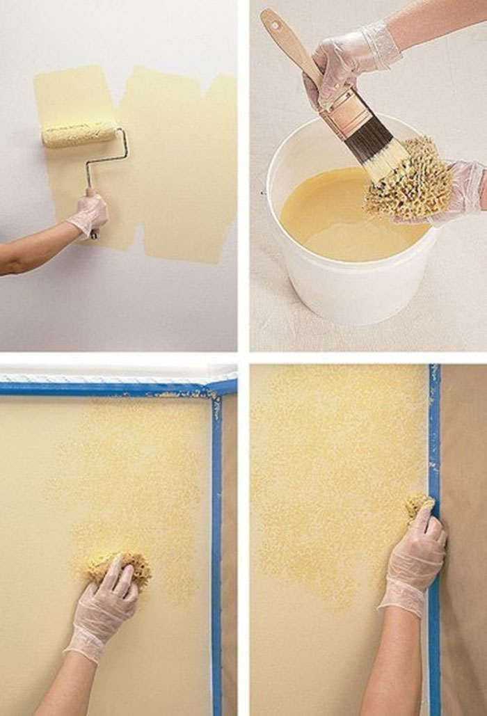 5 бюджетных способов покрасить стены