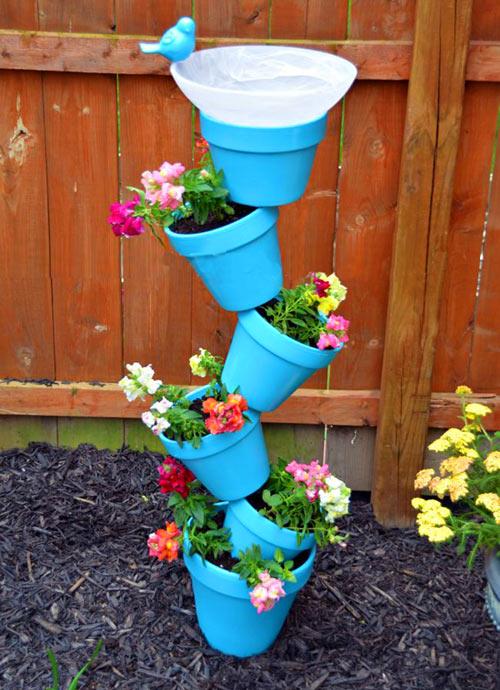Идеи для сада своими руками с фото
