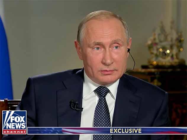 Путин посоветовал американскому журналисту пересмотреть видео про российское оружие