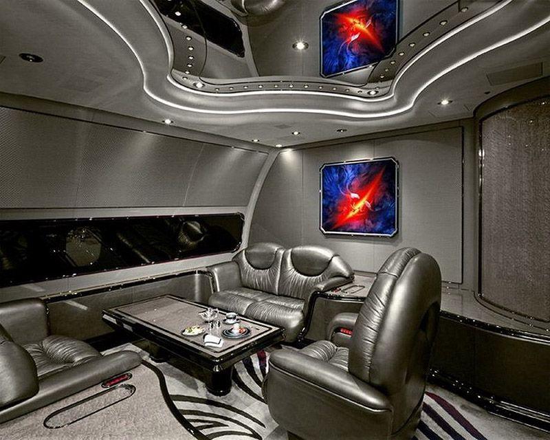 privatejets06 Роскошные частные самолеты сильных мира сего