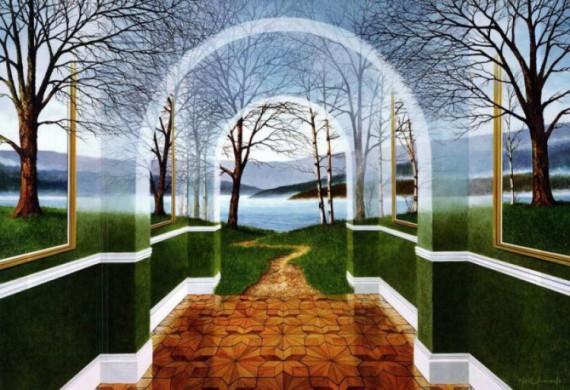 Расширение восприятия мира в масляных картинах Ника Саймона : 1000prikolov.com: приколы и развлечения. Прикольные картинки, Виде