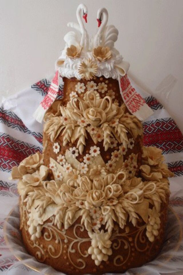 Ukrainian Wedding Cake: