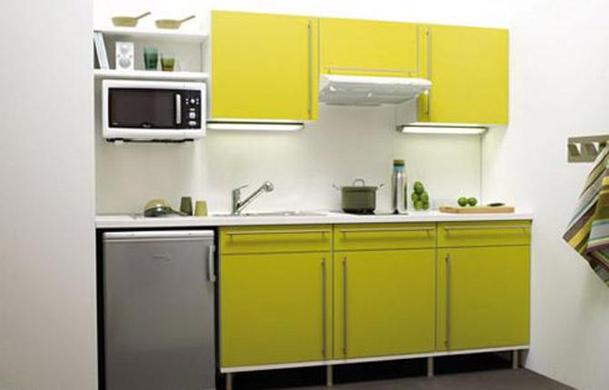 Стильные кухни маленьких размеров