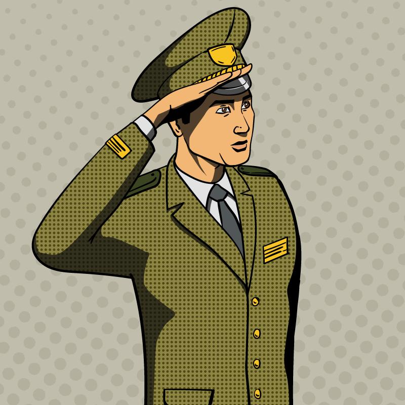 Анекдот про генерала, задавшего солдату три вопроса