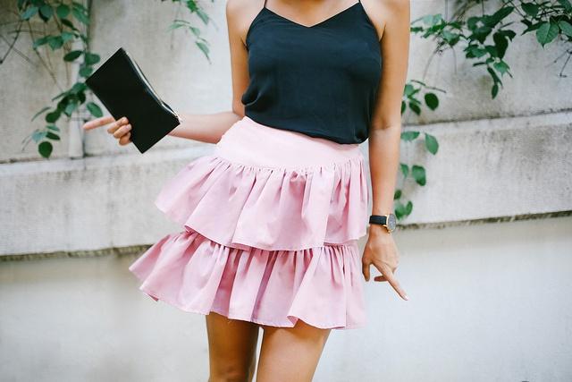 Задорная юбка (Diy)