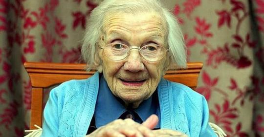 Избегать мужчин – секрет долгой и здоровой жизни: говорит 109-летняя женщина