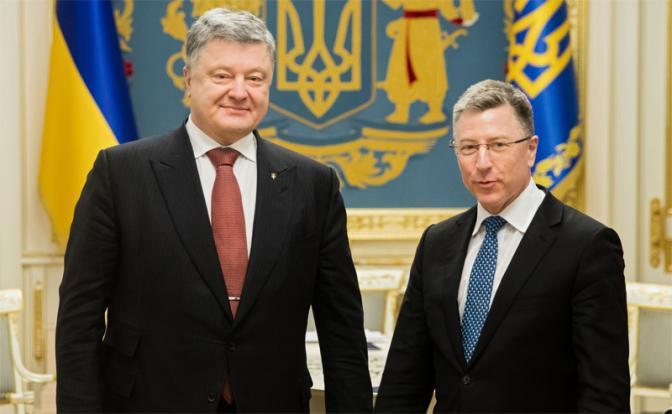 Порошенко согласовал с США контрудар по врагу