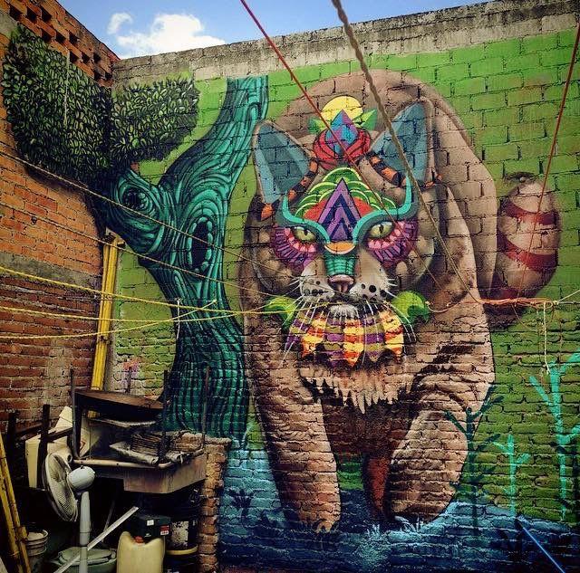 9. Чиланго, Мексика граффити, стрит-арт, художники